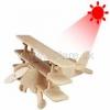 Drevená stavebnica - Solárne lietadlo trojplošník P250