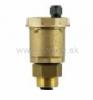 """Odvzdušňovací ventil 1/2"""", automatický so spätným ventilom, horný výstup"""
