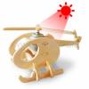 Drevená stavebnica - Solárny vrtulník P230