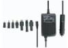 Napájací adaptér do auta s 12V na 15-16-18-19-20-22-24Vdc/100W/ max. 5A+USB