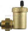 """Odvzdušňovací ventil 1/2"""", automatický so spätným ventilom, vstup z boku/horný výstup"""